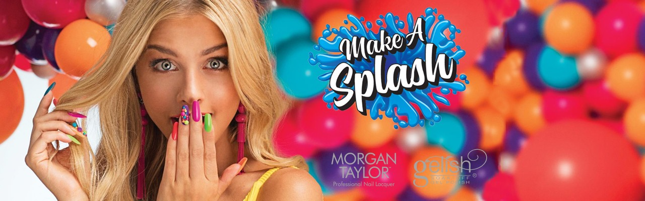 Make a Splash Gelish & Morgan Taylor