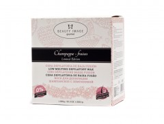 Beauty Image Vosek v perlah - Champagne and Strawberry 1000g