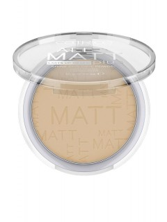 Catrice Kompaktni puder v kamnu all matt plus shine control odt.028 honey beige