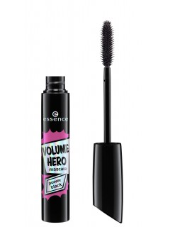 essence Črna maskara za volumen volume hero power black