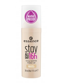 essence Tekoči puder stay all day odt. 10 soft beige 30 ml