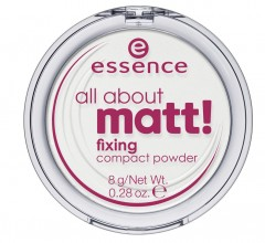 essence Fiksirni kompaktni puder all about matt!