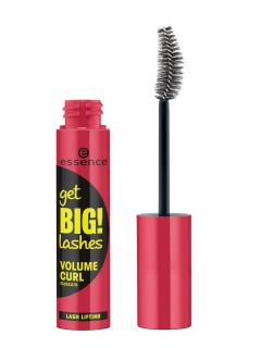 essence Črna maskara za privihanje get big! lashes curl