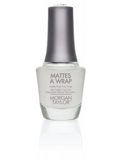 Morgan Taylor MT MATTES A WRAP MATTE TOP COAT