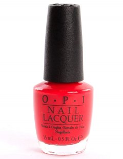O.P.I. Lak za nohte NL - Red My Fortune Cookie