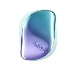 Tangle Teezer Compact Styler Detangling Hairbrush - Aqua Purple Ombre Chrome