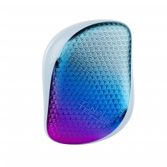 Tangle Teezer Compact Styler Detangling Hairbrush - Aqua Purple Textured Mermaid